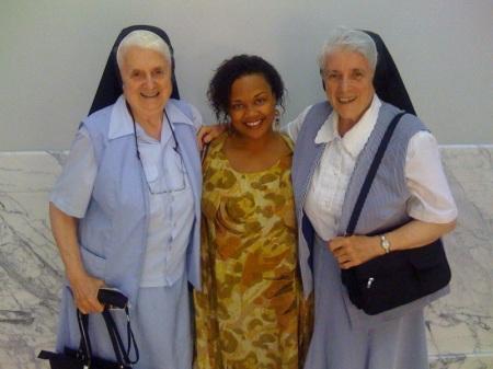 Sis Susanne, Erika and Sis Margaritis